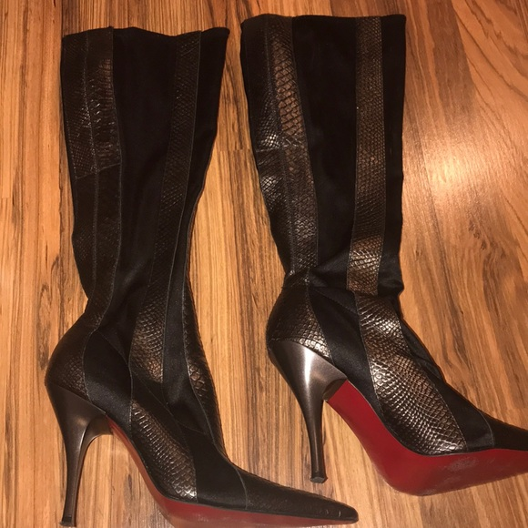 buy popular 40400 be969 Carlos Santana boots with red bottoms- justice